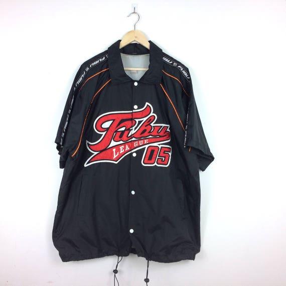 Vintage Fubu Jersey Hip Hop Big Logo Streetwear 90s Shirt 9IP3Yhe7