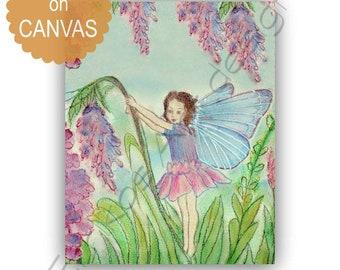 Flower Fairies Nursery Art Print, Girls room Decor, Kids Wall Art, Nursery Decor, Nursery Wall Art, Kids Decor, Baby Girl Nursery Art