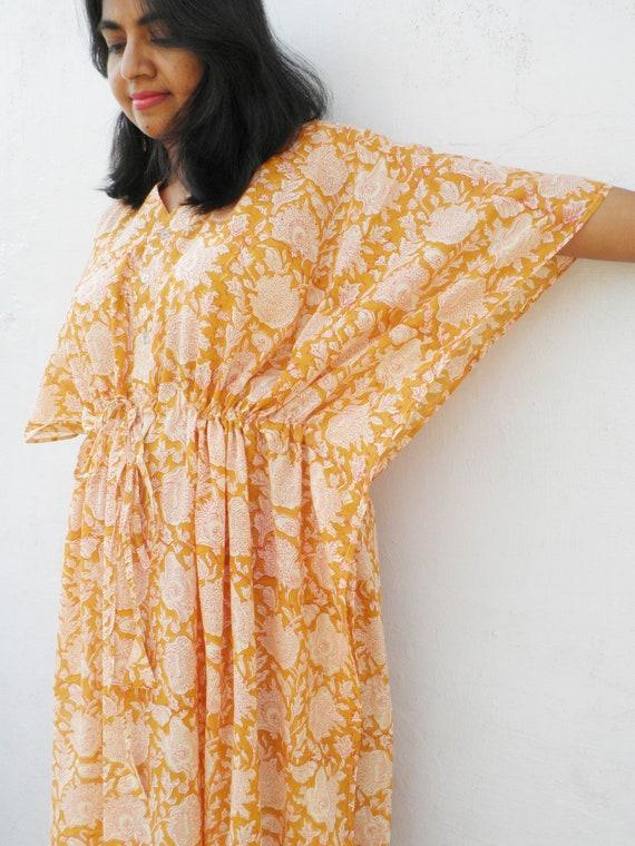 Mustard yellow maternity hospital gown maternity robe