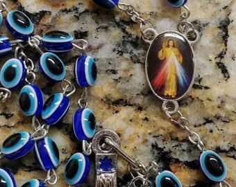 Hamsa evil eye rosary