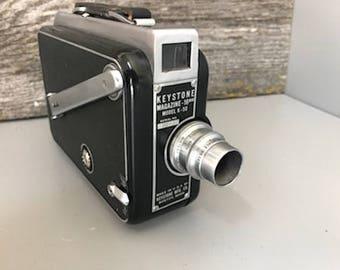 Very Nice Vintage Keystone K-50 16MM Movie Camera