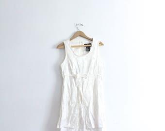 Silky Brocade 90s Mini Dress