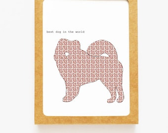 Chow Chow Boxed Notes