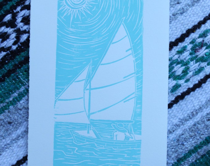 Sail Into The Blue Small Edition Print