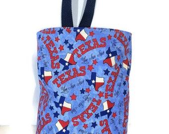 Car Trash Bag//Texas/Waterproof Lining//Car Accessory//Portable Trash Bag//Car Waste Bag//Hanging Trash Bag//Litter Bag for Vehicles