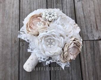 Vintage Bouquet, Vintage Wedding, Vintage Bridal, Brooch Bouquet, Bling Bouquet, Bridal Bouquet
