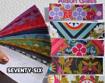 Seventy-Six, Quilter's Washi tape, Alison Glass, planner, fabric washi tape