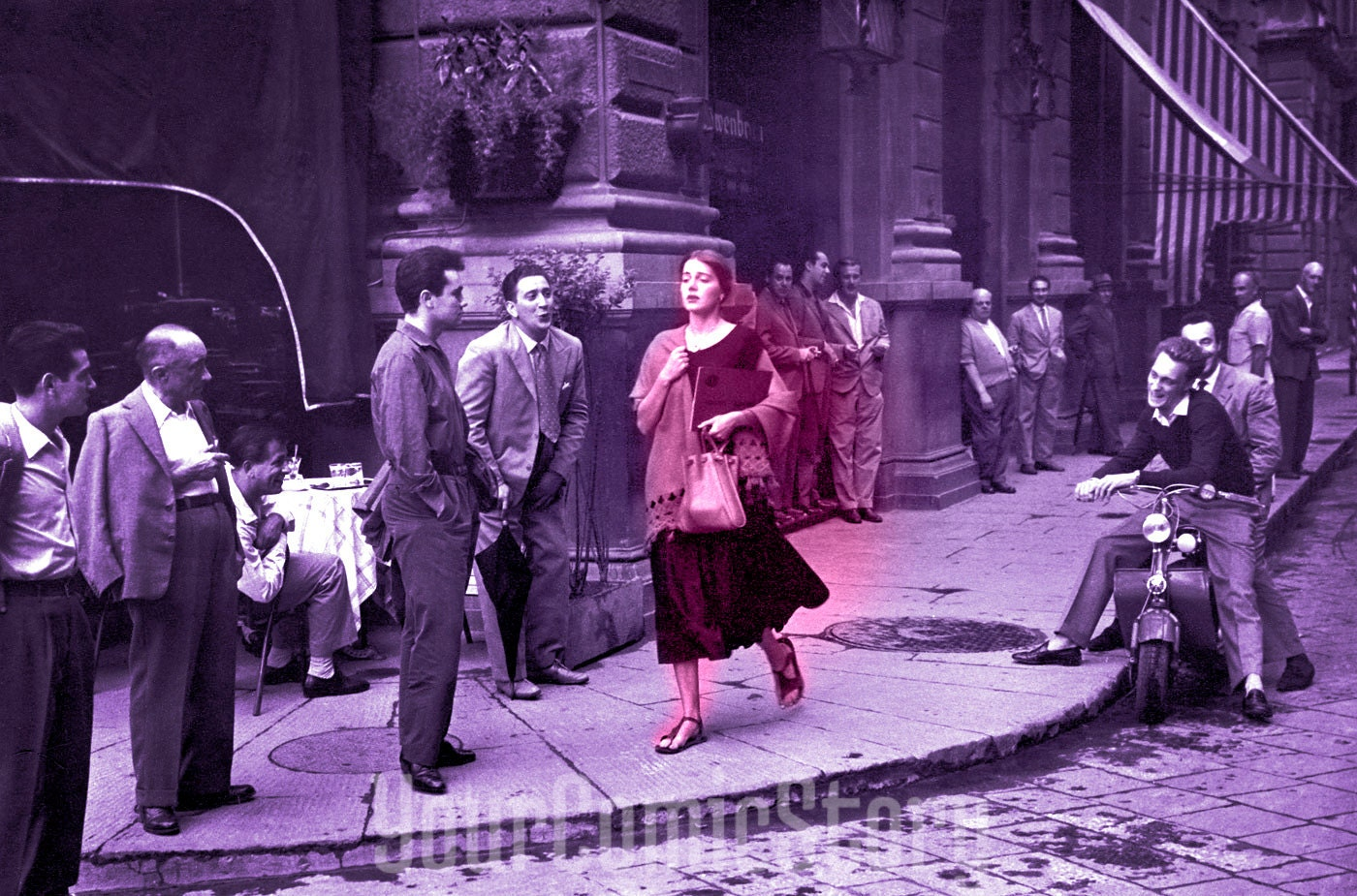 Ruth Orkin An American Girl In Italy Wall Decor