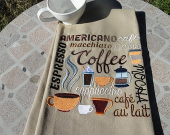 Kitchen Towel - Coffee