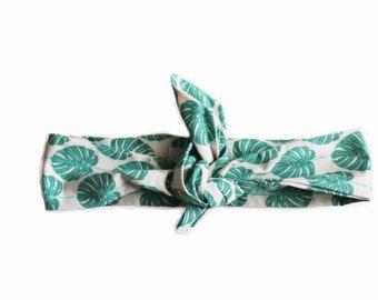 Headband green fins