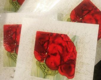 The Red Poppy ... an ARTstory by Mary T Barton