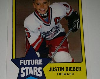 Youth Hockey Rookie JUSTIN BIEBER Canadian