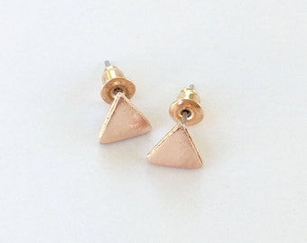 Closed Triangle Earrings