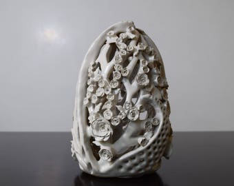 Decorative Egg with roses