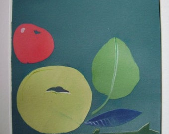 simple fruit print