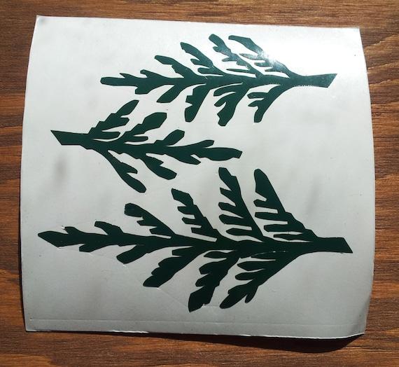 Cedar Forest CNC Cut Vinyl Stickers/Decals