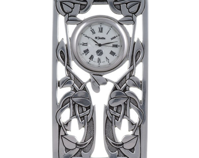 Vine Knot Celtic Clock- Hand Made and Design in UK