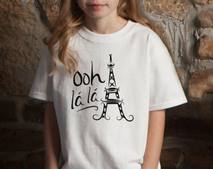 Ooh La La Paris Eiffel Tower T-Shirt
