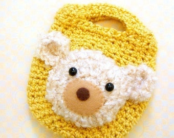 Crochet amigurumi bag pattern - My Little Snack Bag / Pouch - Crochet tutorial PDF