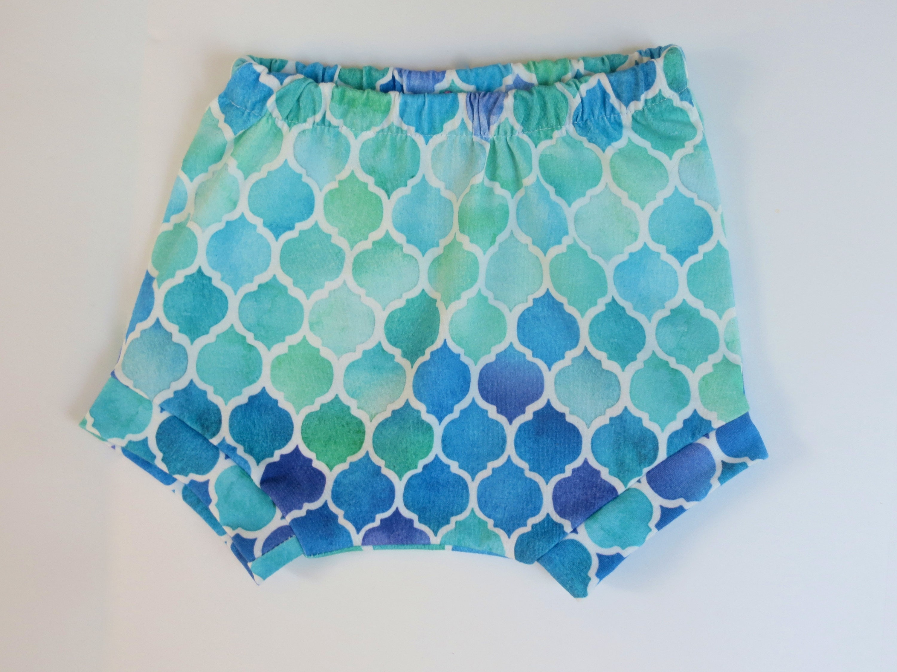 mermaid baby shorts mermaid baby bummies mermaid diaper