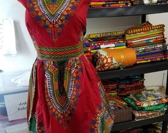 Dashiki Gown/ Ankara Dress