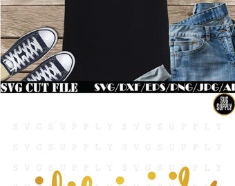 Blessed SVG digital cut file vinyl decal for cutting machine silhouette cameo cricut iron on transfer on mug shirt fabric design