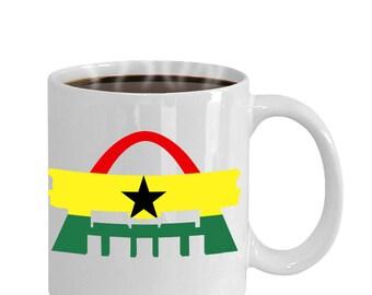 Ghana Independence Square Flag Gift Pride Mug