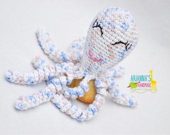 Preemie Octopus / Crochet Octopus / Preemie Octopi / 100% cotton yarn