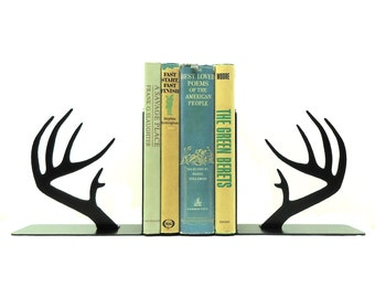 Deer Antler Bookends