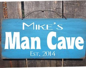 Man cave Sign, man cave decor, man cave, custom man cave sign, personalized man cave, personalized sign, 32