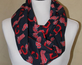 Cleveland Indians Tribe Infinity Scarf