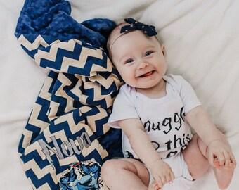 Wizard Blanket - Personalized Minky Baby Blanket