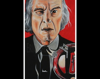 "PHANTASM 11x14"" LIMITED EDITION Numbered Horror Icon Collection Print"