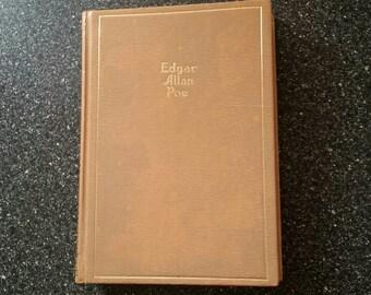 Edgar Allan Poe Vintage 1943 Book The Works of Poe, Macabre Tales