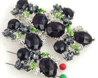 5 2 hole slider beads 9878-R4
