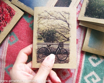 Bike Lover Notebook Spring Ride 33. Mini Journal Travel Pocket Size - Spring Ride - Mini Voyage Journal for your Inspiration