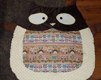 Baby Owl Mat / Play mat