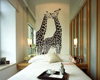 Giraffe Wall Decal, Giraffe Decal, Giraffe Decor, Giraffe Wall Art, Giraffe  Wall Sticker, Safari Decal, Jungle Decor DK311