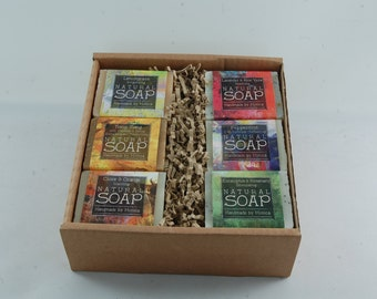Handmade natural soap scented with essential oils