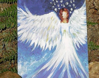 Saphire the Angel of Inner Peace A5 Card