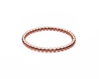 Ball closure rings • mini • Rosé gold