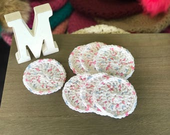 Cotton makeup remover set of 3