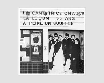 A Theatre In Paris - 8x8 Original Signed Photography