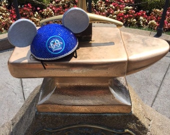 Disneyland 60th Celebration Mickey Ears blinged out