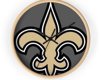 New Orleans Saints Wall Clock
