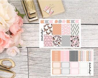 Butterflies Mini Kit Planner Stickers - For Erin Condren Life Planner or Happy Planner