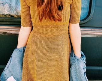 Yellow Desert Dress