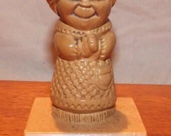 "1972 Paula Figurine ""World's Greatest Grandma"""