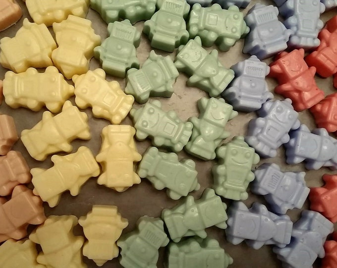 Robot Soaps- 3 pack