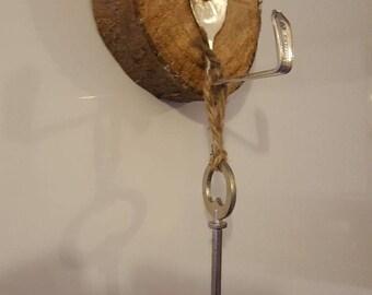 Handmade spoon hook